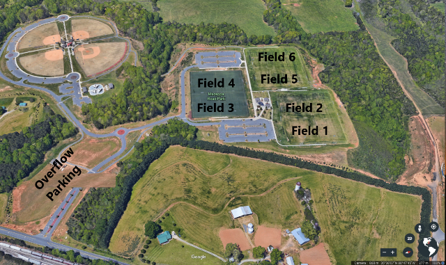 Mazeppa Road Park Field Layout Adj